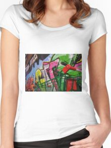 Urbane Women's Fitted Scoop T-Shirt