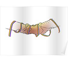 Clasped Ribbon Poster