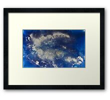 Clouds vs. Sky Framed Print
