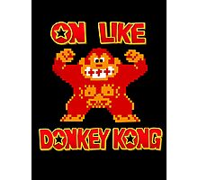 On Like Donkey Kong Photographic Print