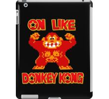 On Like Donkey Kong iPad Case/Skin