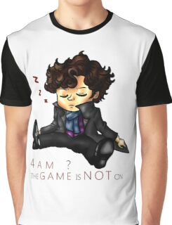The Game Is NOT On Graphic T-Shirt