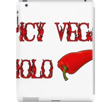 Spicy Vegan Cholo Pepper iPad Case/Skin