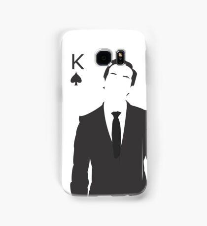 Minimalist Jim Moriarty - King of Spades Samsung Galaxy Case/Skin