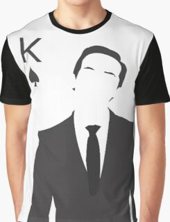 Minimalist Jim Moriarty - King of Spades Graphic T-Shirt