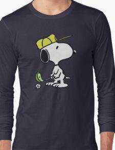 Snoopy Golf Long Sleeve T-Shirt