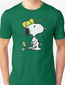 Snoopy Golf Unisex T-Shirt