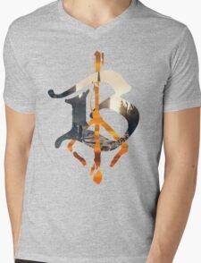 Bloodborne B Hunter's Mark Mens V-Neck T-Shirt