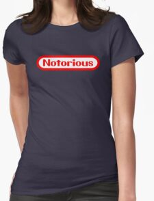 Notorious Nintendo Womens Fitted T-Shirt