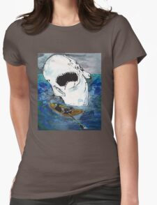 Moby Crash Womens Fitted T-Shirt