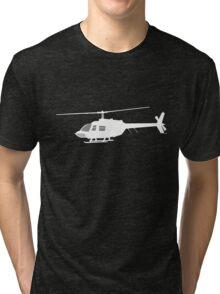 Urban Chopper Helicopter Tri-blend T-Shirt