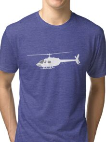 Urban Chopper Helicopter Tri-blend T-Shirt