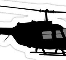 Urban Chopper Helicopter Sticker