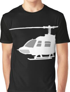 Urban Chopper Helicopter Graphic T-Shirt