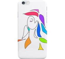 Hot Colour Girl  iPhone Case/Skin