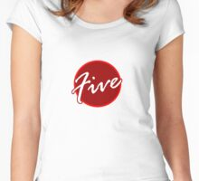 Number Five Women's Fitted Scoop T-Shirt