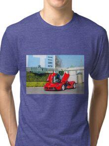 Ferrari LaFerrari  Tri-blend T-Shirt