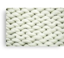 knit background Canvas Print