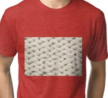 knit background Tri-blend T-Shirt