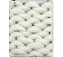 knit background iPad Case/Skin