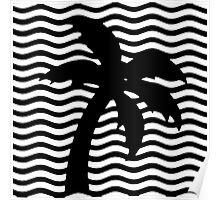 The Neighbourhood Wiped Out! / Palm Tree Art Poster