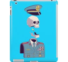 PUZZLE COMMANDER SKULL iPad Case/Skin
