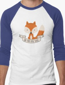 fox sake Men's Baseball ¾ T-Shirt