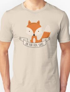fox sake Unisex T-Shirt