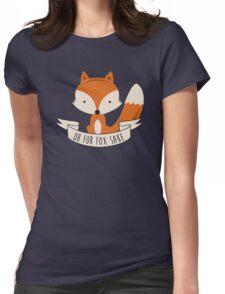fox sake Womens Fitted T-Shirt