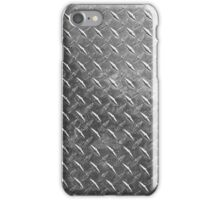 Silver sheet metal iPhone Case/Skin