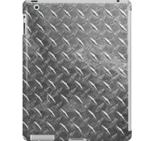 Silver sheet metal iPad Case/Skin