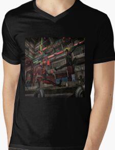 Classic Superheroes  2 Mens V-Neck T-Shirt