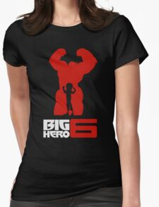Hiro and Baymax Big Hero Womens Fitted T-Shirt