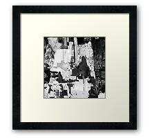 BW 001 Framed Print