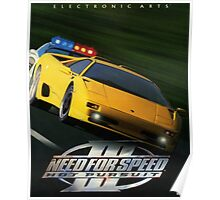 Need For Speed III - Hot Pursuit Poster