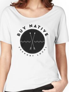 BUY NATIVE Women's Relaxed Fit T-Shirt
