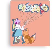 Ghost Trick- Kamila and Missile Canvas Print
