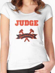Judge - New York Crew Women's Fitted Scoop T-Shirt