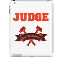 Judge - New York Crew iPad Case/Skin