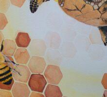 honu bees  Sticker