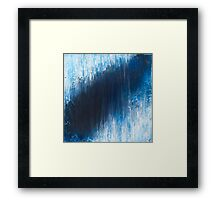 Glacial Abyss Framed Print