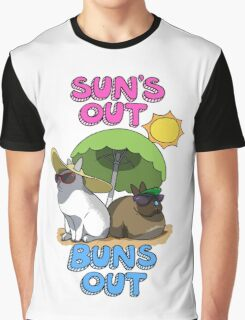 Sun's Out Buns Out Graphic T-Shirt