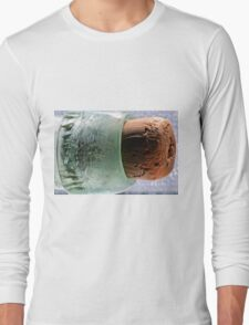"""cork in bottle"" macro Long Sleeve T-Shirt"