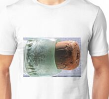 """cork in bottle"" macro Unisex T-Shirt"