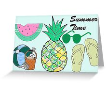 Summer Pack Greeting Card