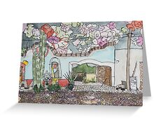 Mineral de Pozos, Mexico Greeting Card