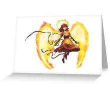 Angel of Vengeance Greeting Card