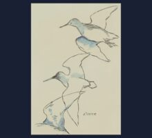 Sketching birds Kids Tee