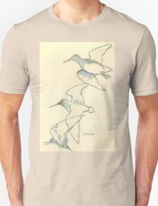 Sketching birds T-Shirt