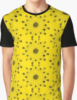 Droplet Flower Graphic T-Shirt